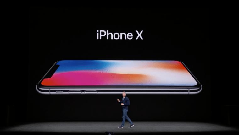 El iPhone X es uno de los dispositivos de Apple que trabaja con uno de los chips que constituirían una infracción de patente. (Foto Prensa Libre: HemerotecaPL)