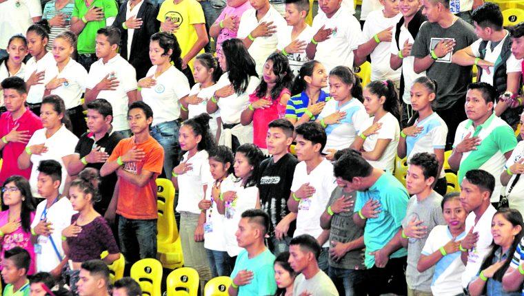 Cerca del 32 por ciento de la población en Guatemala oscila entre los 10 a 24 años. (Foto Prensa Libre: Hemeroteca PL) 11/08/2017