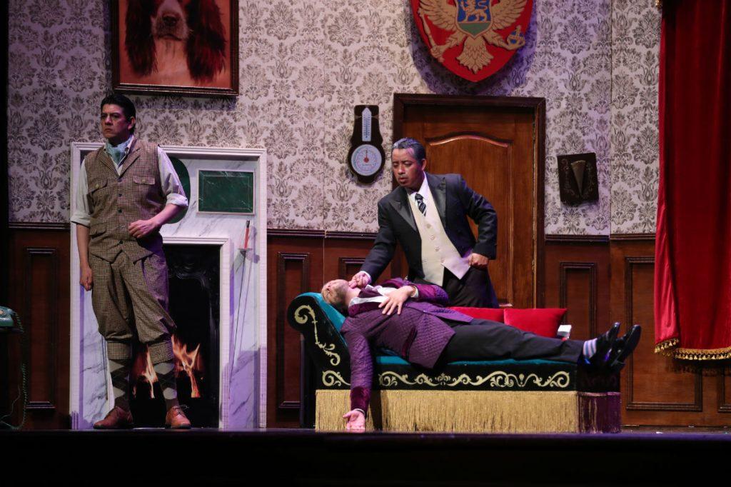 """La comedia es uno de los géneros que predominan en la cartelera teatral guatemalteca y """"La obra que sale mal"""" enriquece esa temática. (Foto Prensa Libre: Keneth Cruz)"""