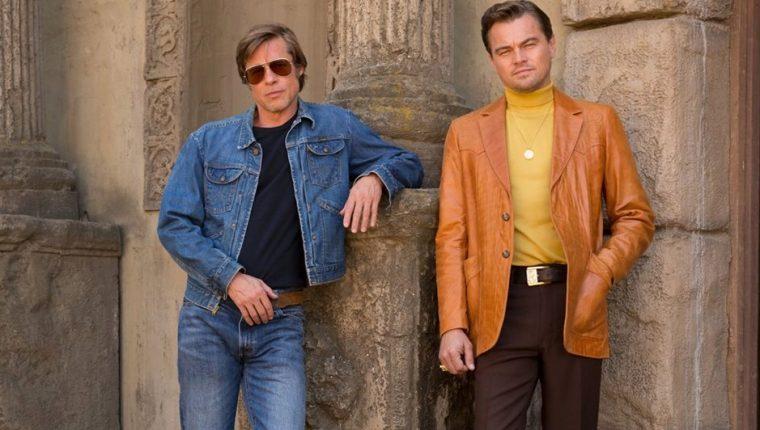 Así lucen Leonardo DiCaprio y Brad Pitt con el estilo de 1969. (Foto Prensa Libe: HemerotecaPL)