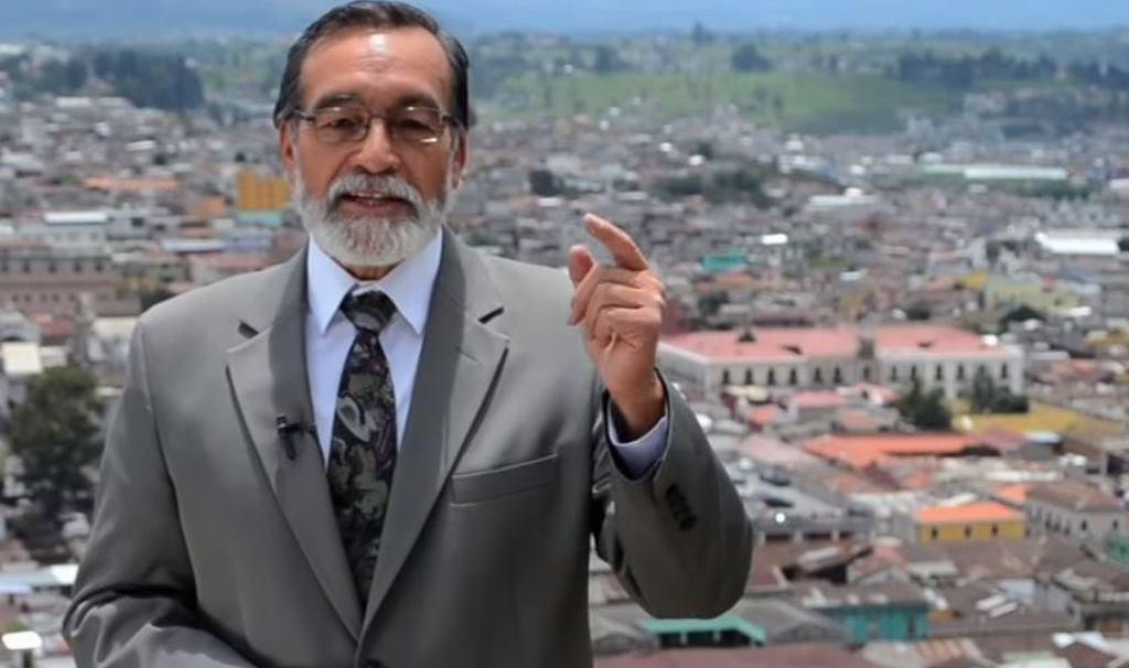 En el proceso electoral del 2015, Luis Grijalva, candidato a la alcaldía de Xela por el partido Encuentro por Guatemala, ganó las elecciones con más de 22 mil votos. (Foto Prensa Libre)