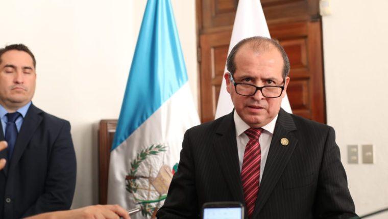 Nester Vásquez, presidente de CSJ. (Foto Prensa Libre: Hemeroteca PL)