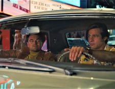 "Leonardo DiCaprio y Brad Pitt protagonizan la cinta de Quentin Tarantino, ""Once Upon a Time in Hollywood"". (Foto Prensa Libre: YouTube)"