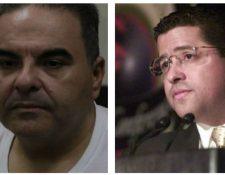 Elías Antonio Saca y el ya fallecido Francisco Flores fueron acusados, por el delito de lavado de dinero. (Foto Prensa Libre: Hemeroteca PL)