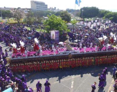 Cincuenta y cinco procesiones habrá en la capital a partir de hoy, 5 de marzo 2019