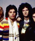 Queen es una banda británica de rock formada en Londres en 1970. En 1991 falleció su vocalista, Freddie Mercury (segundo de izq. a der.). Foto: Hemeroteca PL.
