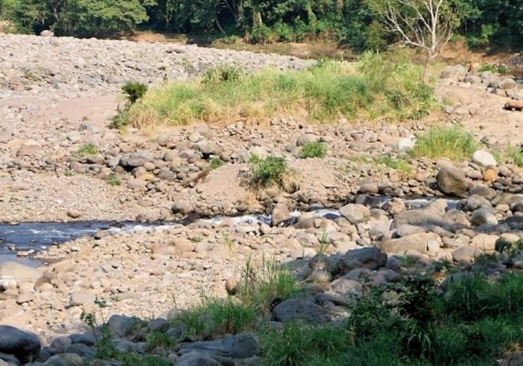 Qué peligros representan diez ríos que están por debajo del nivel mínimo