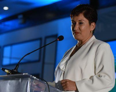 Thelma Aldana, fue aspirante a candidata presidencial proclamada por el partido Semilla. (Foto Prensa Libre: Hemeroteca PL)