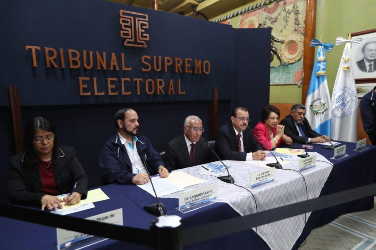7.9 millones de guatemaltecos están empadronados para elecciones de 2019 en Guatemala