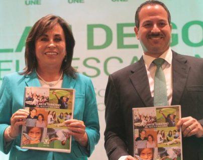 Sandra Torres y Mario Leal Castillo participaron en las elecciones presidenciales del 2015. (Foto HemerotecaPL)