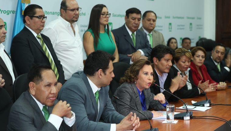 Sandra Torres ha dicho que el caso en su contra fue orquestado por Thelma Aldana. (Foto Prensa Libre: Hemeroteca PL)