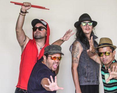 """La banda guatemalteca Viernes Verde promueve el disco """"Trinidad"""". (Foto Prensa Libre: Keneth Cruz)"""