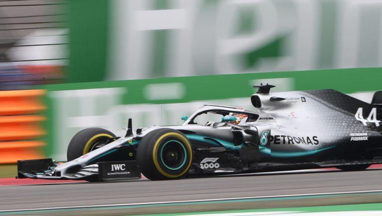 Lewis Hamilton tomó el liderato de la Fórmula 1. (Foto Prensa Libre: AFP)