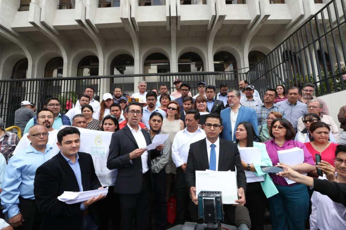 Corte Suprema da trámite a acción legal para revocar no inscripción de Thelma Aldana