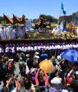 Miles de feligreses se concentrarán en las procesiones durante la Semana Santa 2020. (Foto Prensa Libre: Hemeroteca).