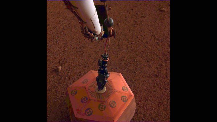 Los sensores que captaron la señal sísmica fueron desarrollados en Francia y Reino Unido. NASA/JPL