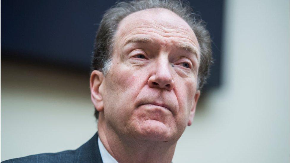 Malpass fue parte del equipo de campaña de Trump para las elecciones de 2016.