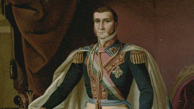Agustín de Iturbide fue declarado emperador de México con el nombre de Agustín I, después de la independencia de España... y a su imperio se unieron territorios centroamericanos. CASAIMPERIAL.ORG