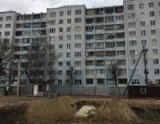 Los restos humanos fueron encontrados durante los trabajos de construcción de un bloque de apartamentos.