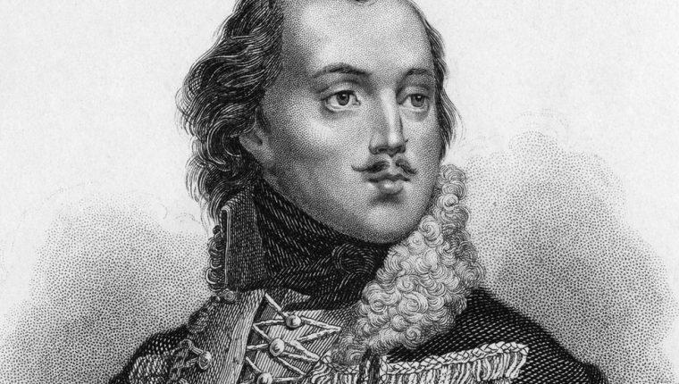 Casimir Pulaski luchó junto a las tropas estadounidenses contra los británicos, en 1777.
