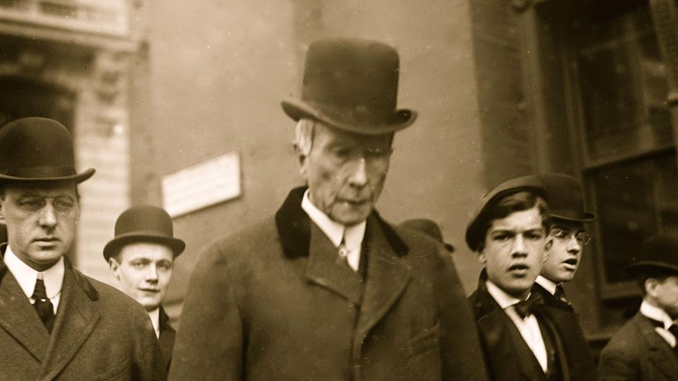 Rockefeller fue odiado en su época, pero él estaba convencido de que sus acciones beneficiaban a todos.