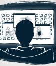 El computador del médico contenía un tutorial con descripción detallada de dónde encontrar niños, cómo acercarse a ellos y seducirlos. BBC | CECILIA TOMBESI