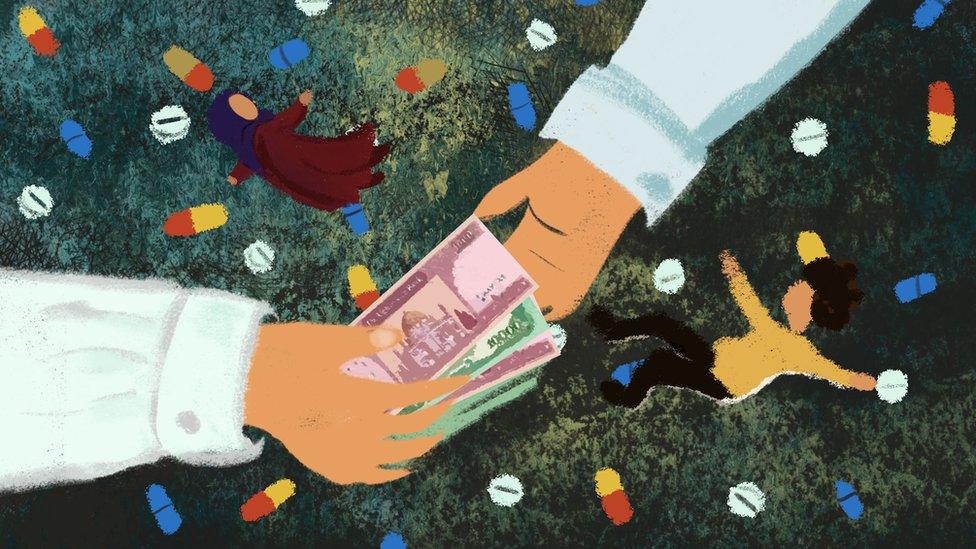 """""""Aceptamos US$3,500 por casar a nuestra hija de 5 años y así pagar el tratamiento médico de nuestro hijo"""""""
