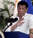 """El presidente de Filipinas Rodrigo Duterte es conocido por usar un lenguaje fuerte. """"Le declararemos la guerra a Canadá"""", dijo este miércoles. REUTERS"""