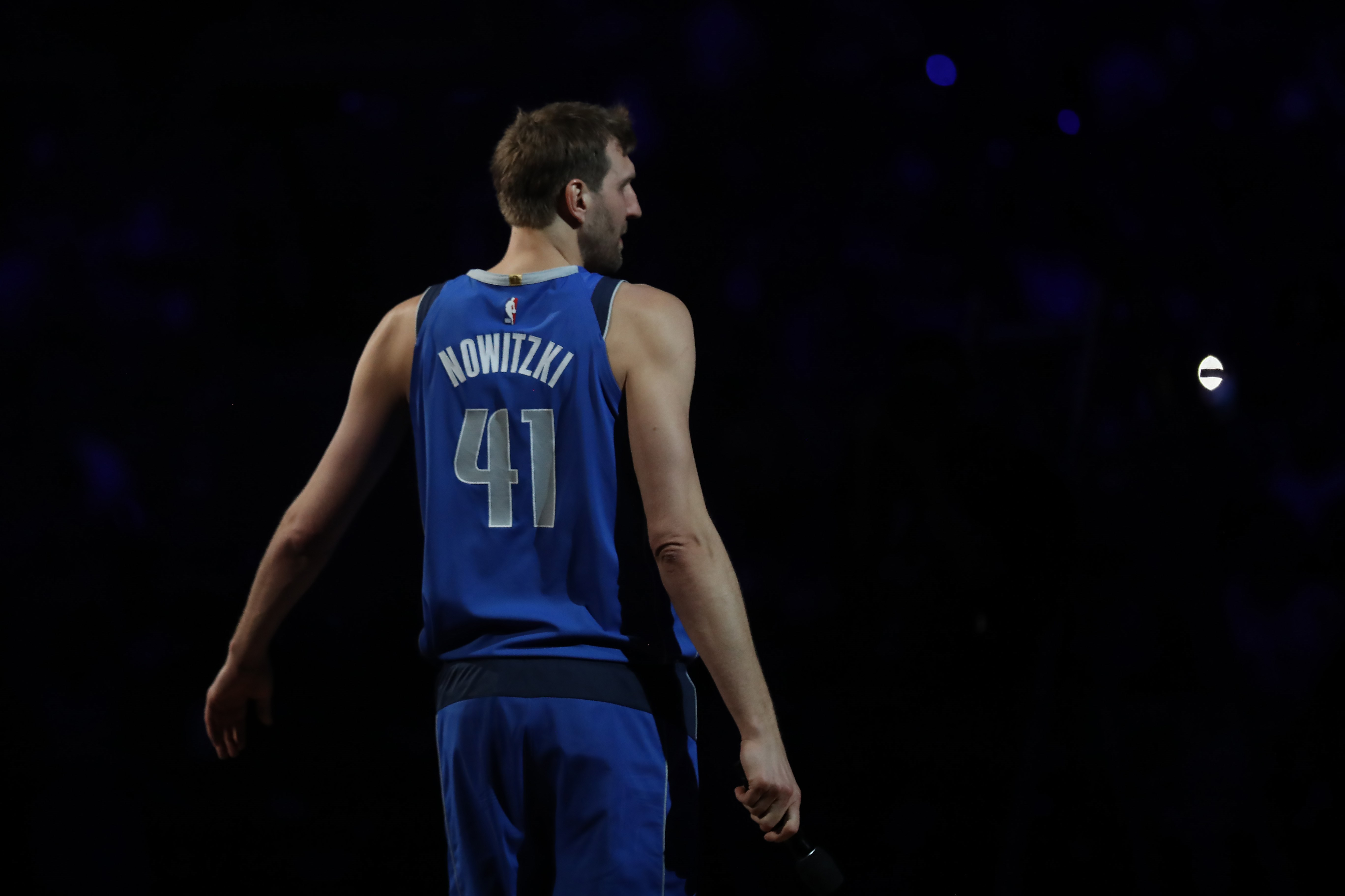 El alemán Dirk Nowitzki se retira de la NBA. (Foto Prensa Libre: AFP)