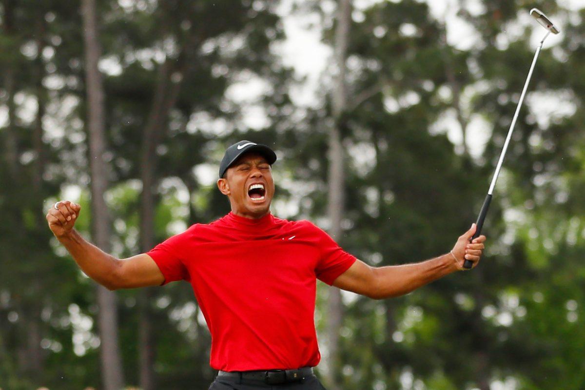 Tiger Woods gana su Grand Slam 15 en Augusta y vuelve a la élite