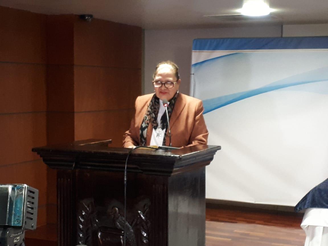 Fiscal General, Consuelo Porras. (Foto Prensa Libre: Dulce Rivera)
