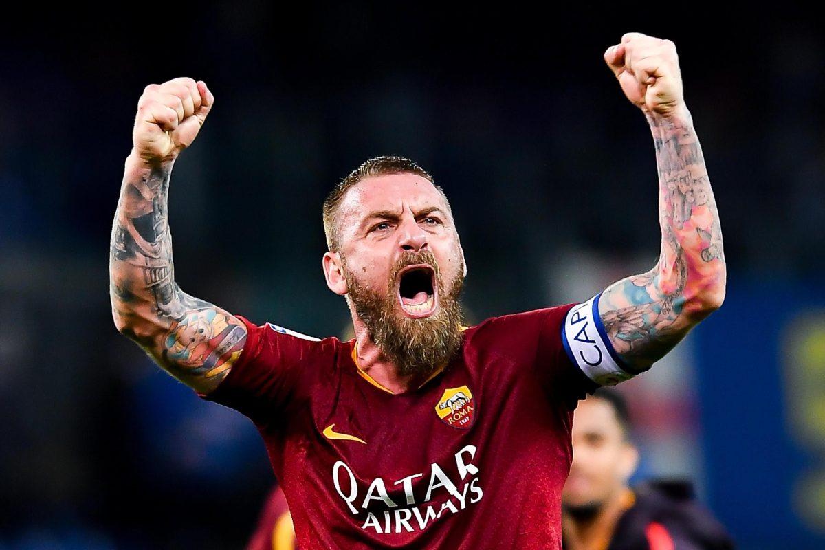 Daniele De Rossi dejará la Roma, el club de su vida