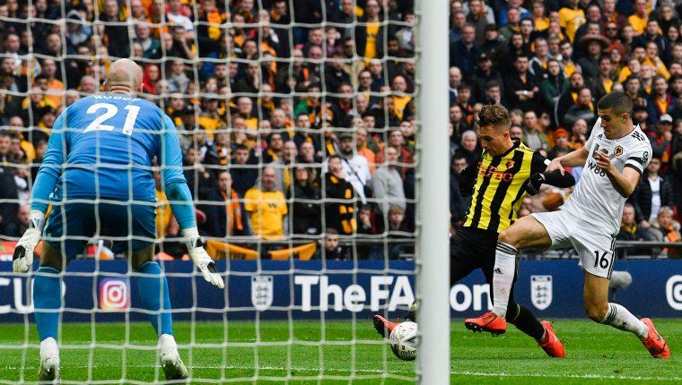 Gerard Deulofeu anotó un golazo el fin de semana para el Watford. (Foto Prensa Libre:  EFE)