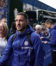 El extremo izquierdo belga del Chelsea CF Eden Hazard. (Foto Prensa Libre: EFE)