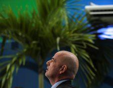 El presidente de la Fifa, Gianni Infantino, es el único candidato para las elecciones del máximo ente. (Foto Prensa Libre: EFE)