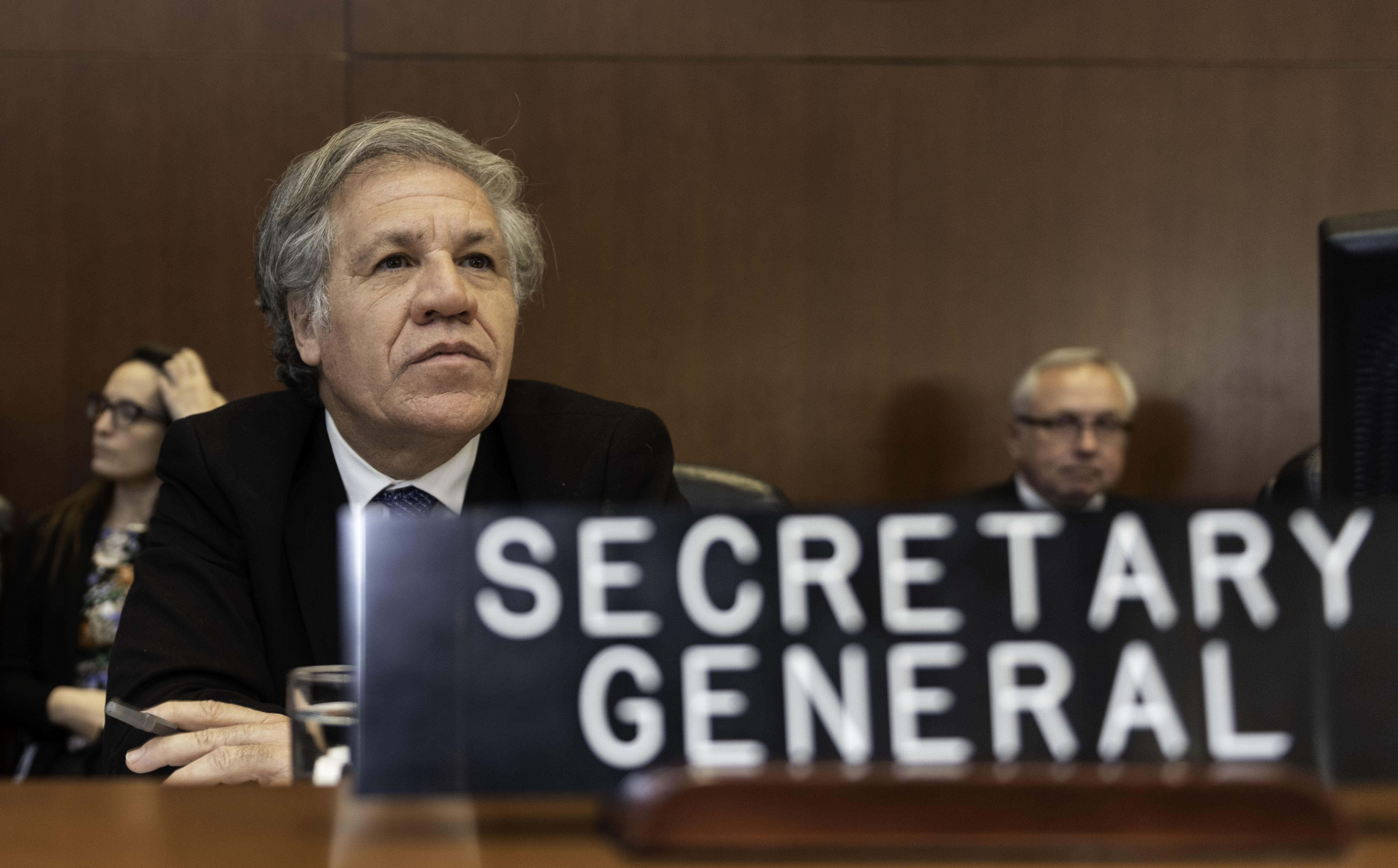 Luis Almagro, Secretario General de OEA (Foto Prensa Libre: Hemeroteca PL)