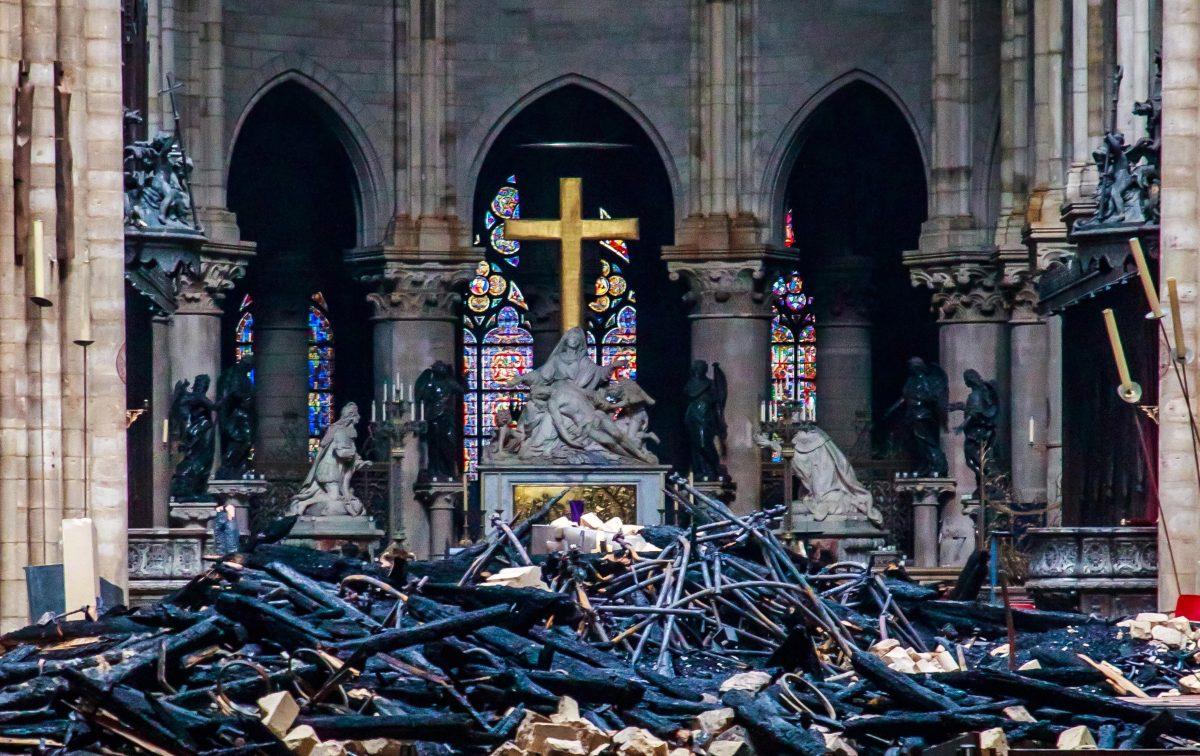 Fotogalería: Notre Dame, un día después del incendio
