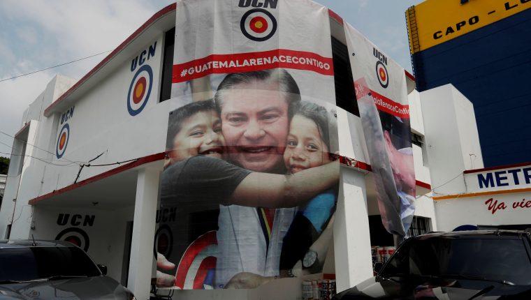El candidato de la Unión del Cambio Nacional (UCN), fue capturado en Estados Unidos acusado de tener vínculos con el cartel de la droga de Sinaloa. EFE/ Esteban Biba