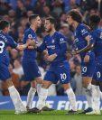 Los jugadores del Chelsea no pudieron pasar del empate. (Foto Prensa Libre: EFE)