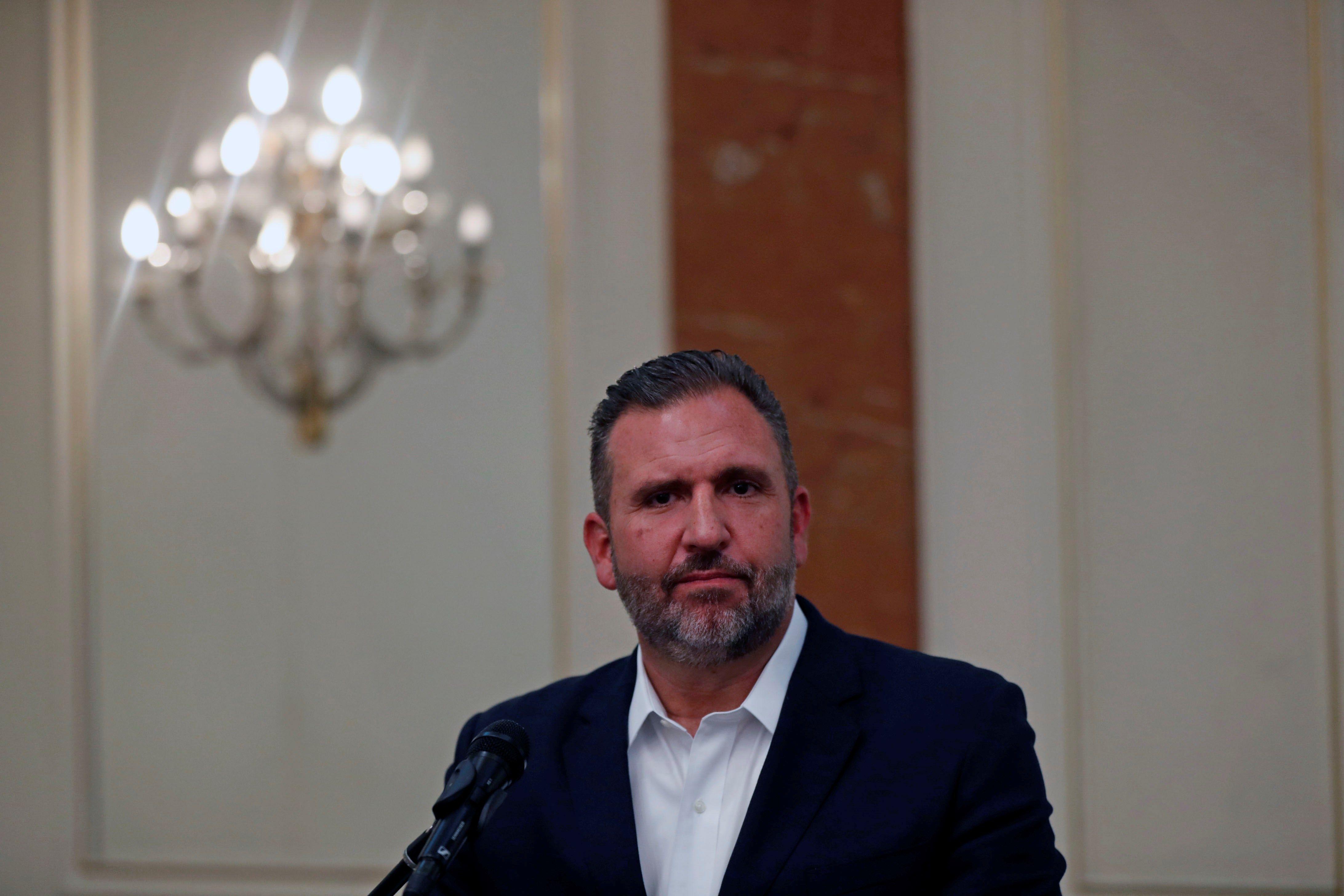 Roberto Arzú, candidato presidencial de PAN-Podemos. (Foto Prensa Libre: Hemeroteca PL)