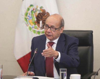 Romeo Ruiz Armento, será el próximo embajador de México en Guatemala. (Foto Prensa Libre: Hemeroteca PL)
