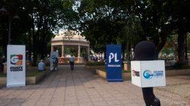 Los habitantes de varios sectores de Chiquimula se manifestaron por medio de Cabildo Abierto de Prensa Libre y Guatevisión.  (Foto Prensa Libre: Eslly Melgarejo)