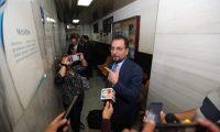 Abogados de Gustavo Bonilla informaron sobre la excusa de su cliente para comparecer ante juez. (Foto Prensa Libre: Esbin García)