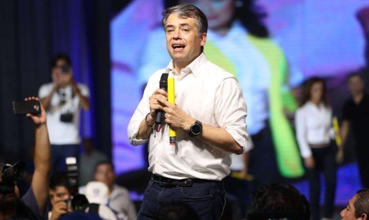 Edwin Escobar, presidenciable de Prosperidad Ciudadana. (Foto Prensa Libre: Hemeroteca PL)