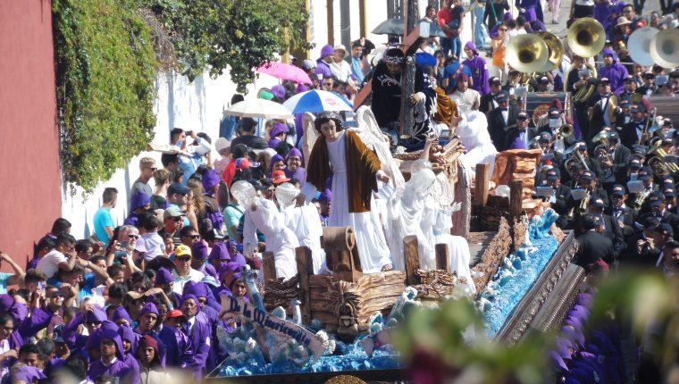 Jesús Nazareno de la Caída, Aldea San Bartolomé Becerra. Antigua Guatemala. (Foto Prensa Libre: Néstor Galicia)