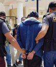 Juan Carlos Cotoc Cotoc, de 25 años, fue capturado por el crimen de María Ramona Chojolán Yac. (Foto Prensa Libre: Mynor Toc)