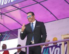 Neto Bran, alcalde de Mixco que va por la reelección por el partido Todos. (Foto Prensa Libre: Facebook)