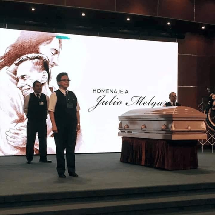 Familiares y amigos realizaron un homenaje a Julio Melgar. Foto Prensa Libre: J. José Ordoñez.