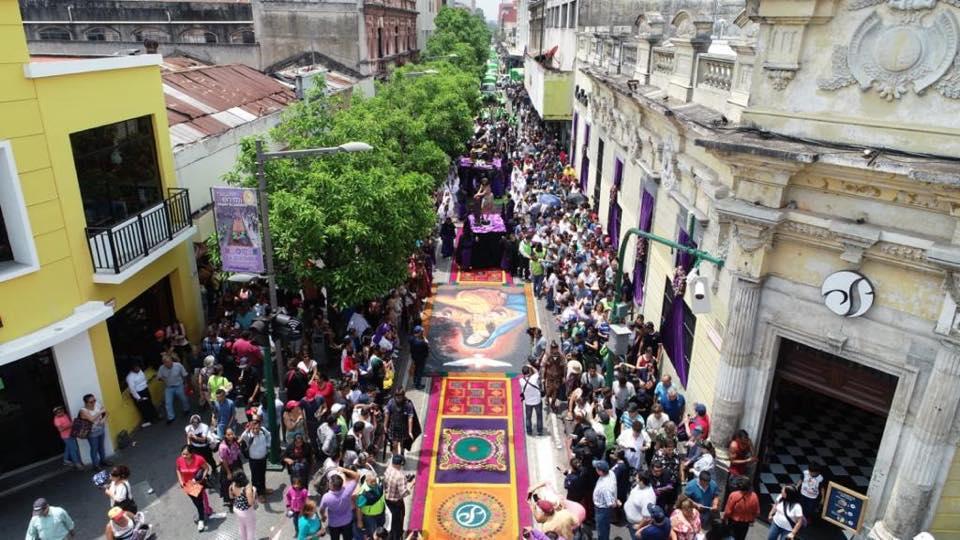 Los colaboradores realizaron varios detalles artísticos en los diseños. Foto Prensa Libre: Municipalidad de Guatemala