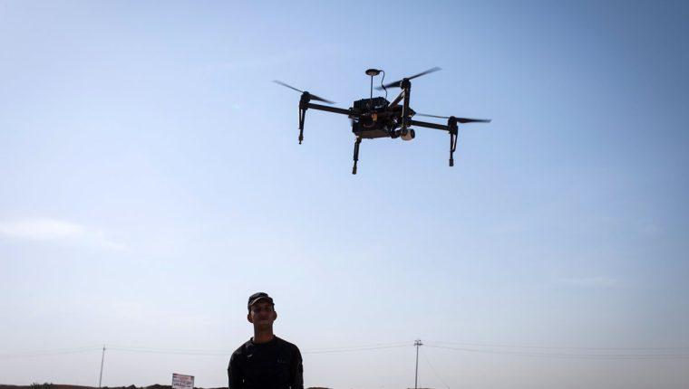 Un dron fue utilizado por un grupo criminal para intentar facilitar la entrada de un grupo de migrantes indocumentados a Estados Unidos. (Foto Prensa Libre: Hemeroteca PL)